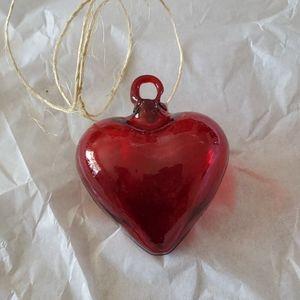 Glass Heart Decoration ❤